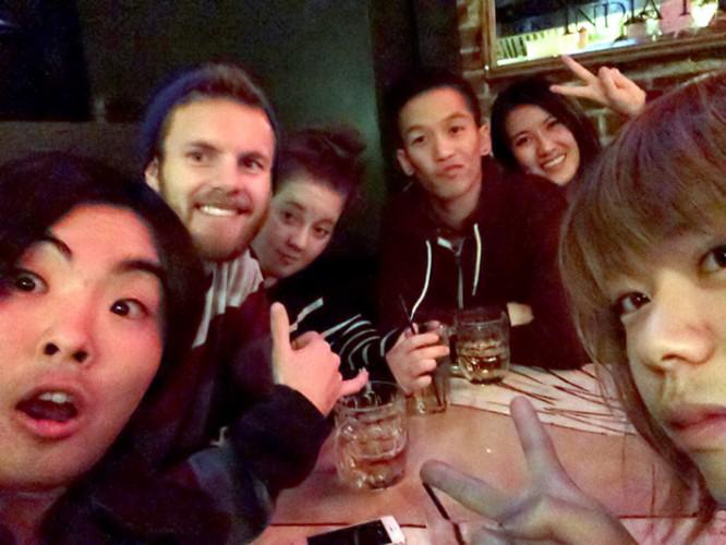 BCITのクラスメイトとパーティー!